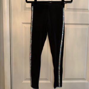 PINK bling stripe leggings